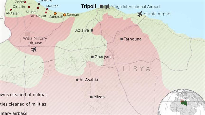 Libya launches operation to liberate Al-Watiya airbase | TurkishPress