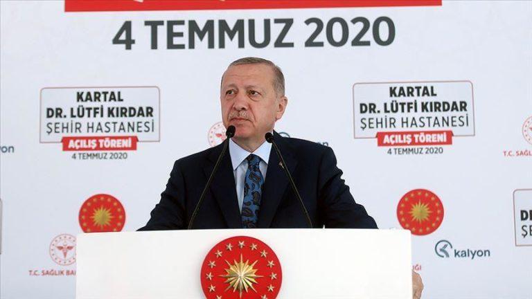 Turkey sent virus aid to 138 countries: President