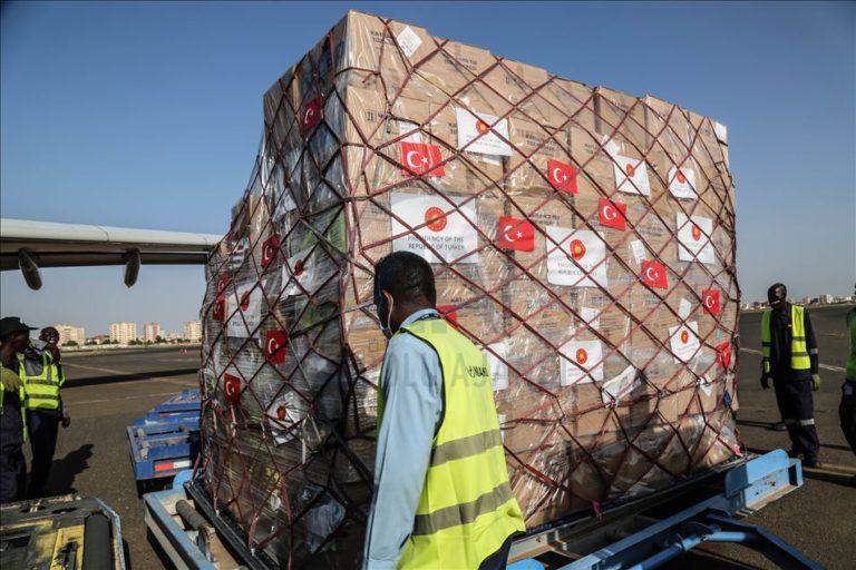 Turkish COVID-19 medical aid arrives in Sudan