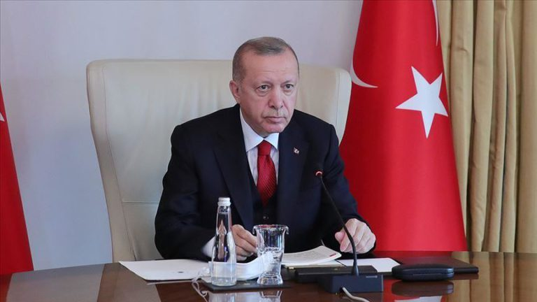 Erdogan: Turkey proud to help Africa against virus