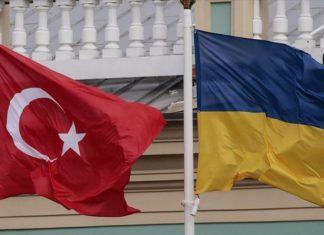 Turkey - Ukraine Flag